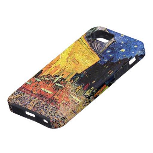 Van Gogh, terraza del café en la noche, bella arte iPhone 5 Case-Mate Cobertura