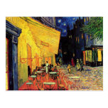 Van Gogh; Terraza del café en la noche, bella arte Tarjeta Postal