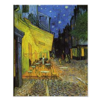 Van Gogh; Terraza del café en la noche Fotografías