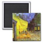 Van Gogh: Terraza del café en la noche Imán