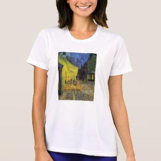 Van Gogh; Terraza del café en la noche Camisetas