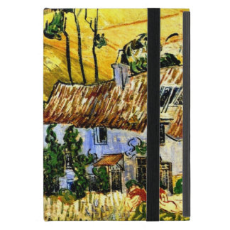 Van Gogh: Thatched Houses against a Hill Cover For iPad Mini