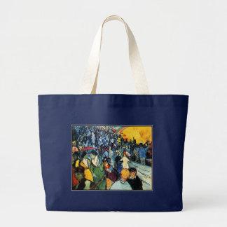 Van Gogh - The Arena at Arles Large Tote Bag