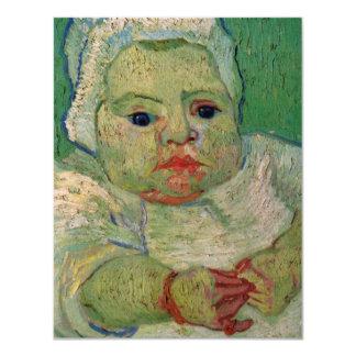 Van Gogh; The Baby Marcelle Roulin Card