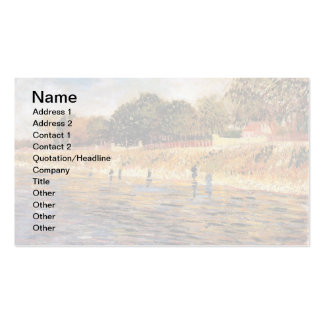 Van Gogh - The Banks Of The Seine Double-Sided Standard Business Cards (Pack Of 100)