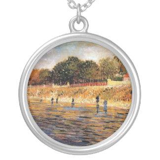 Van Gogh - The Banks Of The Seine Custom Jewelry