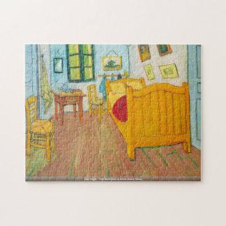van Gogh - The bedroom in Arles Saint-Remy Puzzle