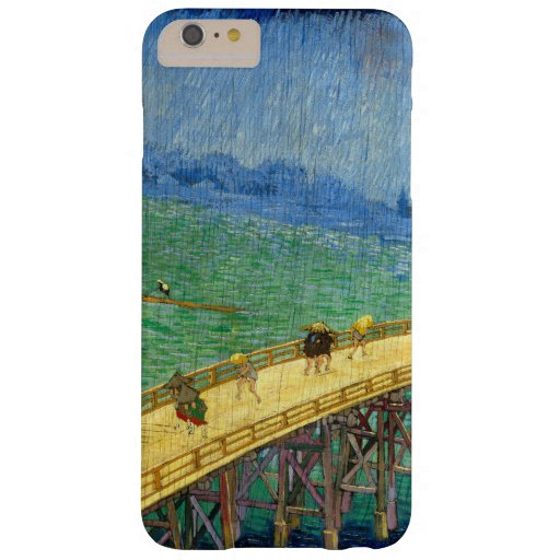 Van Gogh The Bridge in the Rain after Hiroshige Barely There iPhone 6 Plus Case