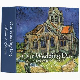 van Gogh, The Church at Auvers Binder