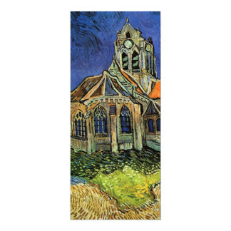 van Gogh, The Church at Auvers, Save the Date Custom Invitations