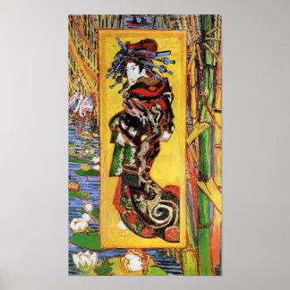 Van Gogh - The Courtesan Poster