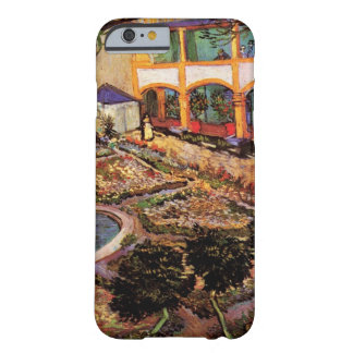 Van Gogh The Courtyard of the Hospital at Arles Barely There iPhone 6 Case