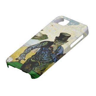 Van Gogh; The Drinkers, Vintage Post Impressionism iPhone SE/5/5s Case