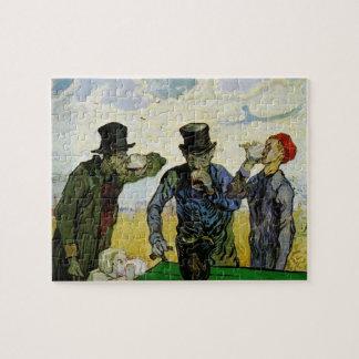 Van Gogh; The Drinkers, Vintage Post Impressionism Jigsaw Puzzle