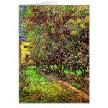 Van Gogh - The Garden Of Saint-Paul Hospital Greeting Card