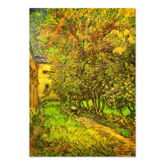 Van Gogh: The Garden of Saint-Paul Hospital Invitations