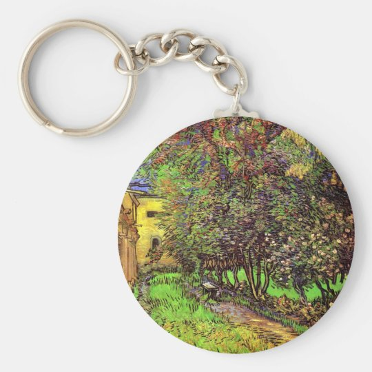 Van Gogh - The Garden Of Saint-Paul Hospital Keychain