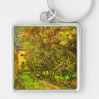 Van Gogh: The Garden of Saint-Paul Hospital Keychain
