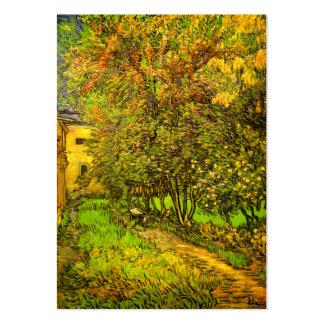 Van Gogh: The Garden of Saint-Paul Hospital Large Business Card