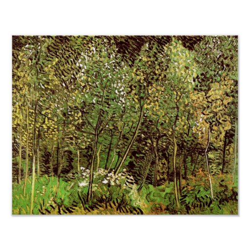 Van Gogh The Grove Poster
