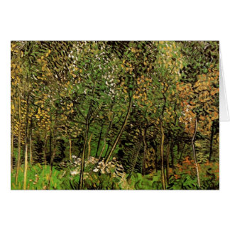 Van Gogh The Grove, Vintage Impressionism Art Card