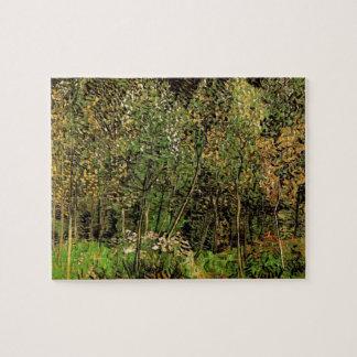 Van Gogh The Grove, Vintage Impressionism Art Jigsaw Puzzle