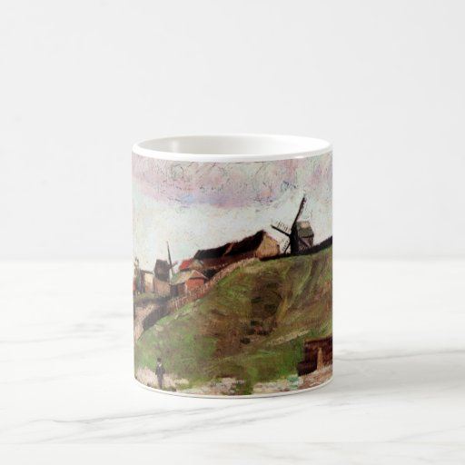 Van Gogh; The Hill of Montmartre with Quarry Mugs