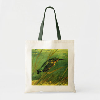 Van Gogh The Kingfisher, Vintage Impressionism Art Tote Bag