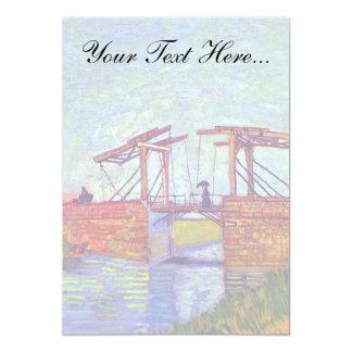 Van Gogh - The Langlois Bridge At Arles Card