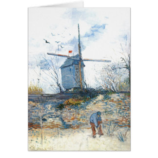 Van Gogh: The Mill of Galette Card