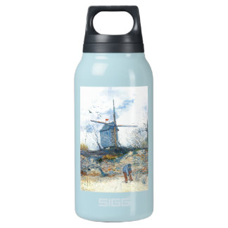 Van Gogh: The Mill of Galette Insulated Water Bottle