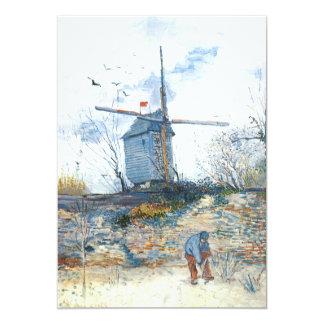 Van Gogh: The Mill of Galette Invite