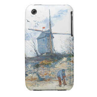 Van Gogh: The Mill of Galette iPhone 3 Case