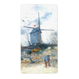 Van Gogh: The Mill of Galette Label