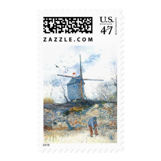 Van Gogh: The Mill of Galette Postage