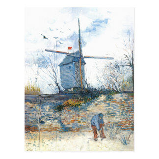 Van Gogh: The Mill of Galette Postcard