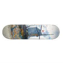 Van Gogh: The Mill of Galette Skateboard