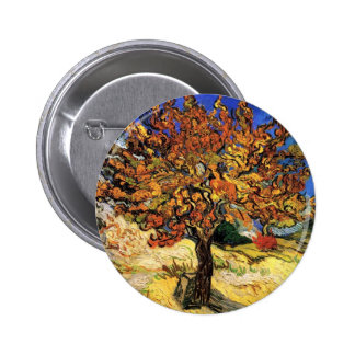 Van Gogh - The Mulberry Tree Pinback Button