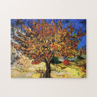 Van Gogh - The Mulberry Tree Jigsaw Puzzle