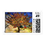 Van Gogh The Mulberry Tree Postage Stamp