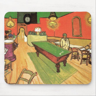 Van Gogh - The Night Cafe In Arles Mouse Pad