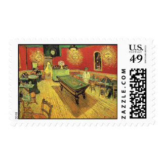 Van Gogh - The Night Cafe Postage