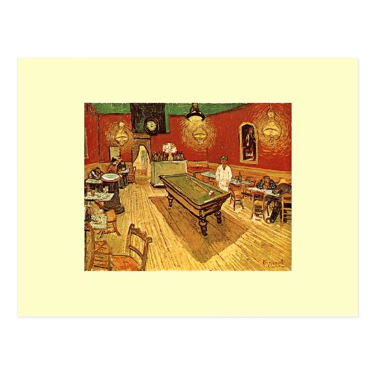 Van Gogh The Night Cafe Postcard