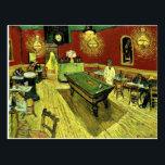 "Van Gogh - The Night Cafe Postcard<br><div class=""desc"">Vincent van Gogh artwork,  The Night Café.</div>"