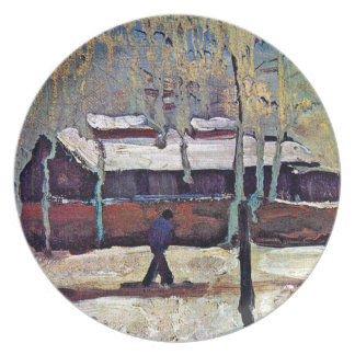 Van Gogh - The Old Station At Eindhoven Party Plate