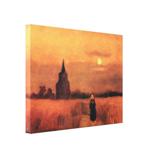 Van Gogh - The Old Tower In The Fields Canvas Print