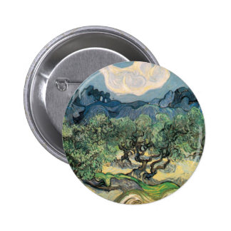 van Gogh - The Olive Trees (1889) Button