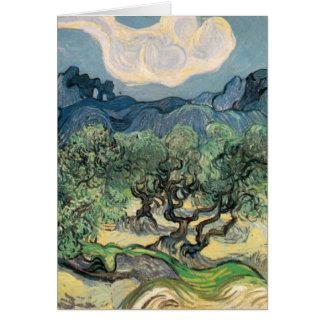 van Gogh - The Olive Trees (1889) Card