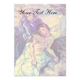 Van Gogh - The Pieta (After Delacroix) Card