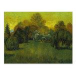 Van Gogh The Poet's Garden (F468) Postcard